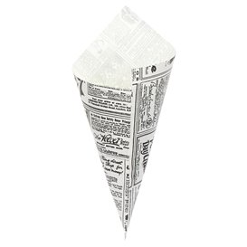 Rożek papierowi Tłuszczoodporny Times 240mm 100g (2.000 Sztuk)
