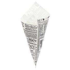 Rożek papierowi Tłuszczoodporny Times 240mm 100g (250 Sztuk)