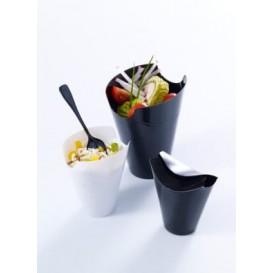 """Tasting Plastic Container PP """"Click-Clack"""" Black 80ml (20 Units)"""