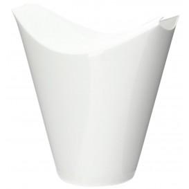 "Tasting Plastic Container PP ""Click-Clack"" White 80ml (20 Units)"