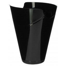"Tasting Plastic Container PP ""Click-Clack"" Black 80ml (400 Units)"