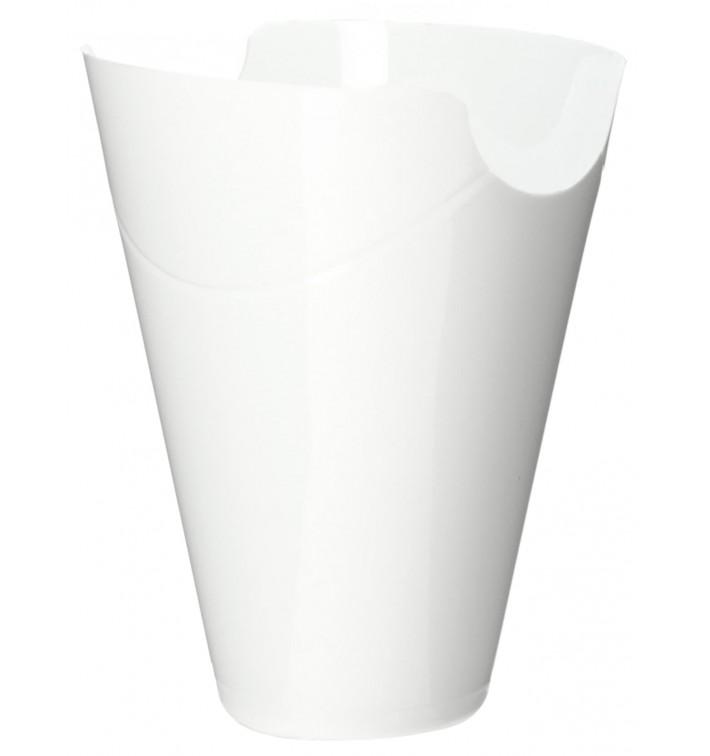 "Tasting Plastic Container PP ""Click-Clack"" White 180ml (10 Units) (10 Units)"