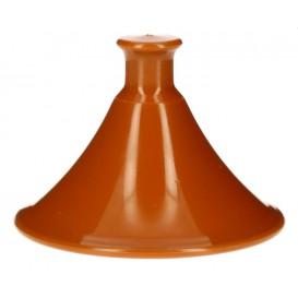 """Plastic Lid for Tasting Plastic Plate PP """"Tajine"""" Ø7x5,5cm (50 Units)"""
