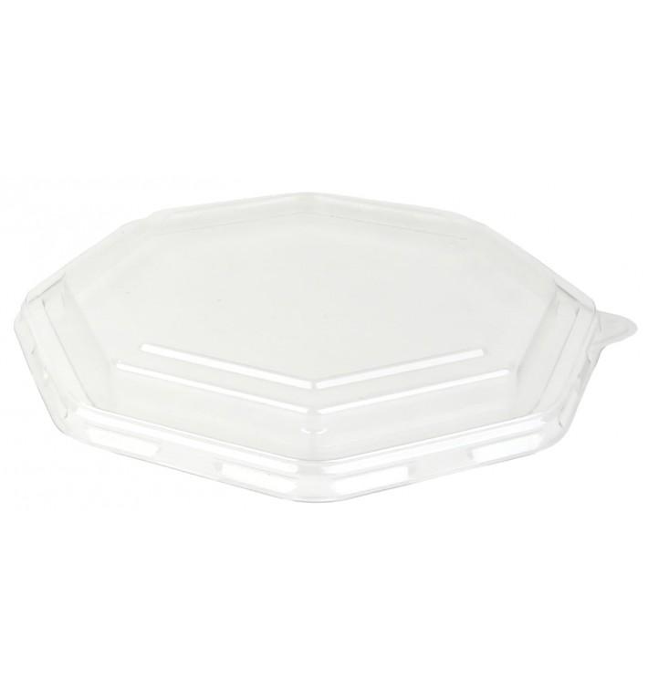 Pokrywka Plastikowe PET dla Pojemniki Hexagonalny 230x230mm (100 Sztuk)