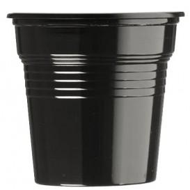 Kubki Plastikowe PS Czarni 80ml Ø5,7cm (50 Sztuk)