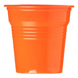 Kubki Plastikowe PS Orange 80ml Ø5,7cm (50 Sztuk)