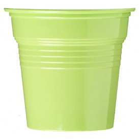 Kubki Plastikowe PS Zielony Limonka 80ml Ø5,7cm (50 Sztuk)