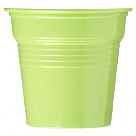 Kubki Plastikowe PS Zielony Limonka 80ml Ø5,7cm (1500 Sztuk)