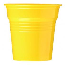 Kubki Plastikowe PS Żółty 80ml Ø5,7cm (50 Sztuk)