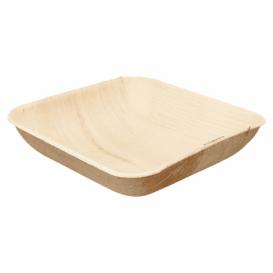 Miski Liści Palmowych 20x20x4cm (25 Sztuk)