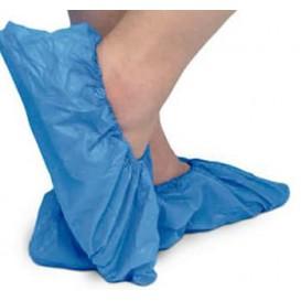 Ochraniacze na buty TST PP Niebieski z Podeszwa Uszczelniona CPE (50 Sztuk)