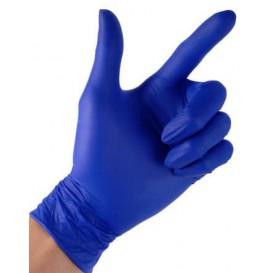 Rękawiczki Nitrylowe bez Talk Niebieski Rozmiar L 4,5G (100 Sztuk)