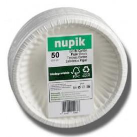 Miski Papierowe Białe Biodegradowalny 250ml (250 Sztuk)