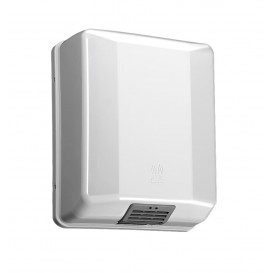 Plastic Electric Hand Dryer ABS Elegance White 1600W (1 Unit)