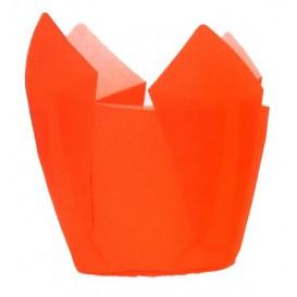 Formy do Muffinek Tulipan Ø50x50/80 mm Orange (125 Sztuk)