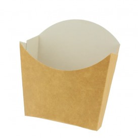 Pudełka Kraft na Frytki Małe 8,2x2,2x9cm (25 Sztuk)