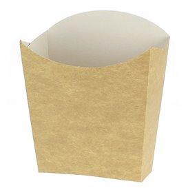 Pudełka Kraft na Frytki Małe 8,2x2,2x9cm (600 Sztuk)