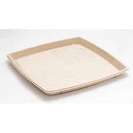 Tacki Trzciny Cukrowej Kwadrat Naturalne 36x36cm (25 Sztuk)