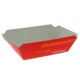 Tacki Łódki Papierowe 250ml 9,6x6,5x4,2cm (25 Sztuk)