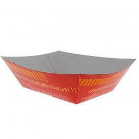 Tacki Łódki Papierowe 525ml 12,1x8,1x5,5cm (600 Sztuk)