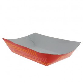Tacki Łódki Papierowe 300ml 11,0x7,0x3,5cm (25 Sztuk)