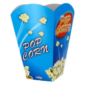 Pudełka na Popcorn Duże 150 gr 8,7x13x20,3cm (250 Sztuk)