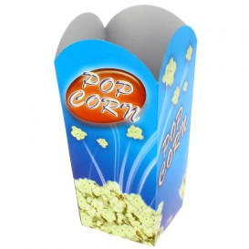 Pudełka na Popcorn Małe 45 gr. 6,5x8,5x15cm (25 Sztuk)