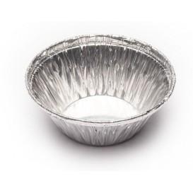 Pojemniki Aluminowe Okrągłe Cukiernicze 25ml (100 Sztuk)
