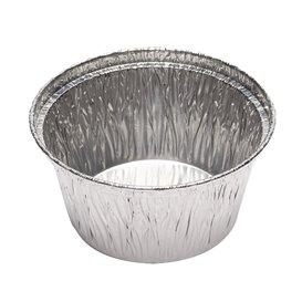 Pojemniki Aluminowe Okrągłe Cukiernicze 110ml (50 Sztuk)