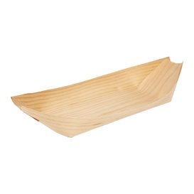 Pine Leaf Tray 25x11x2,5cm (50 Units)