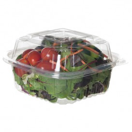 Clamshell Deli Container PLA 15,0x15,0x7,5cm (240 Units)