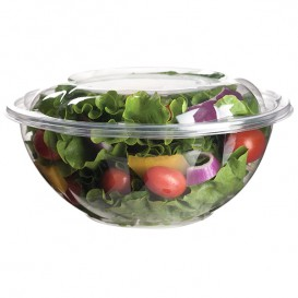 Salad Bowl with Lid PLA 710ml (50 Units)