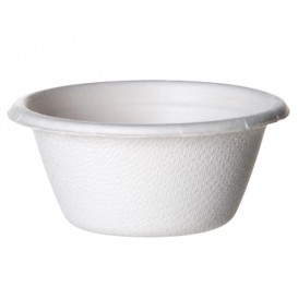 Sugarcane Container Bagasse White 60ml (2500 Units)