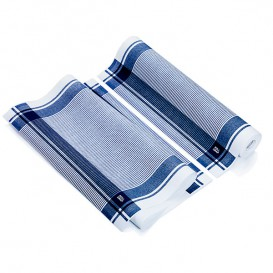 "Dishcloth Roll ""Roll Drap"" Vintage Blue 40x64cm P40cm (10 Units)"