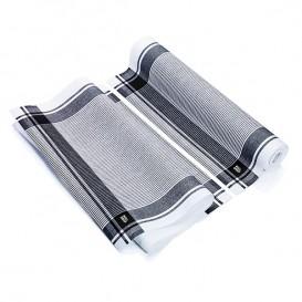 "Dishcloth Roll ""Roll Drap"" Vintage Black 40x64cm P40cm (200 Units)"