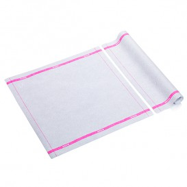 "Wipes Roll ""Drytech"" Edgings Magenta 40x40cm P40cm (100 Units)"