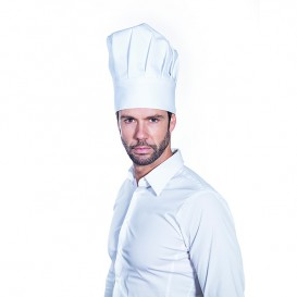 Hat Chef Cotton White (25 Units)