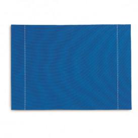 """Podkładki na Stół """"Day Drap"""" Niebieski Royal 32x45cm (12 Sztuk)"""