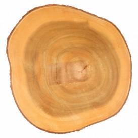 Tacki do Prezentacji Okrągłe Drewniane Ø230x35mm (6 Sztuk)