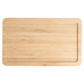 Tacki Finger Food Bambusowe - Opakowanie na wynos Koktajl 20,5x12,5x1cm (1 Sztuk)
