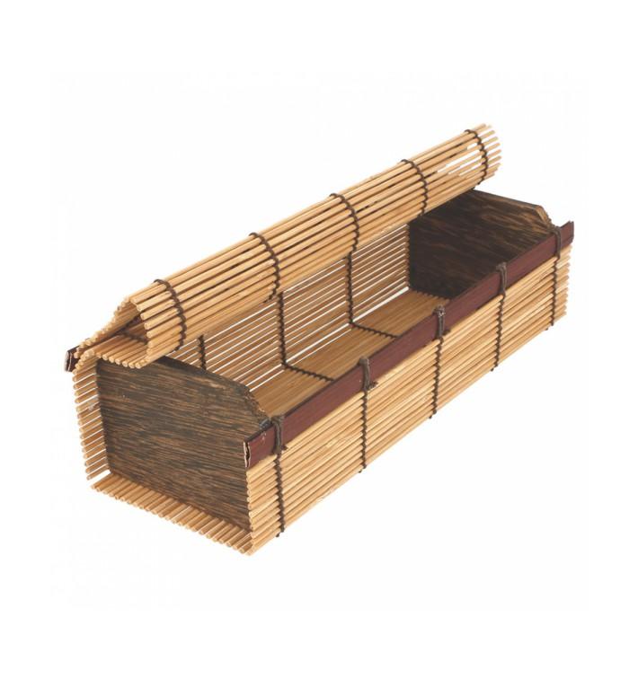 Opakowania Bambusowe na Sushi 23x8x6cm (1 Unit)