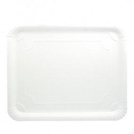 Tacki Papierowe Prostokątny Białe 31x38 cm (50 Sztuk)