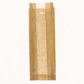"Paper Food Bag ""Espigas"" 9+5x50cm (250 Units)"