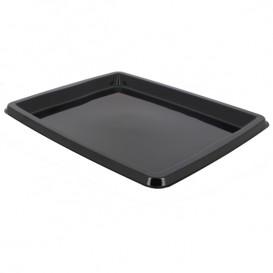 Tacki Plastikowe Prostokątny Czarni 316x265x20mm (25 Sztuk)