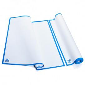 "Dishcloth Roll ""Roll Drap"" Edgings Blue 52x80cm P52cm (160 Units)"
