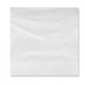 Serwetki Papierowe Ozdobne 20x20 3 Warstwy Białe (100 Sztuk)