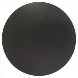 Podkładka Papierowa Pod Tort Czarni 180 mm (100 Sztuk)