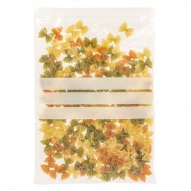 Plastic Zip Bag Autoseal Write-On Block 25x35cm G-160 (100 Units)