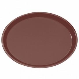 Tacki PP Oval Antypoślizgowa Brązowe 67,0x55,5cm (1 Sztuk)