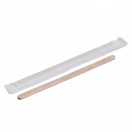 Wooden Coffee Stirrer Wrapped 11cm (5000 Units)